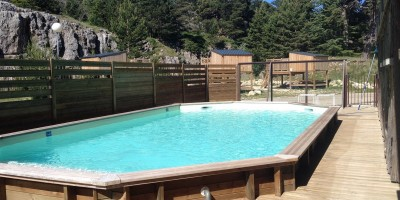 piscine camping site touristique
