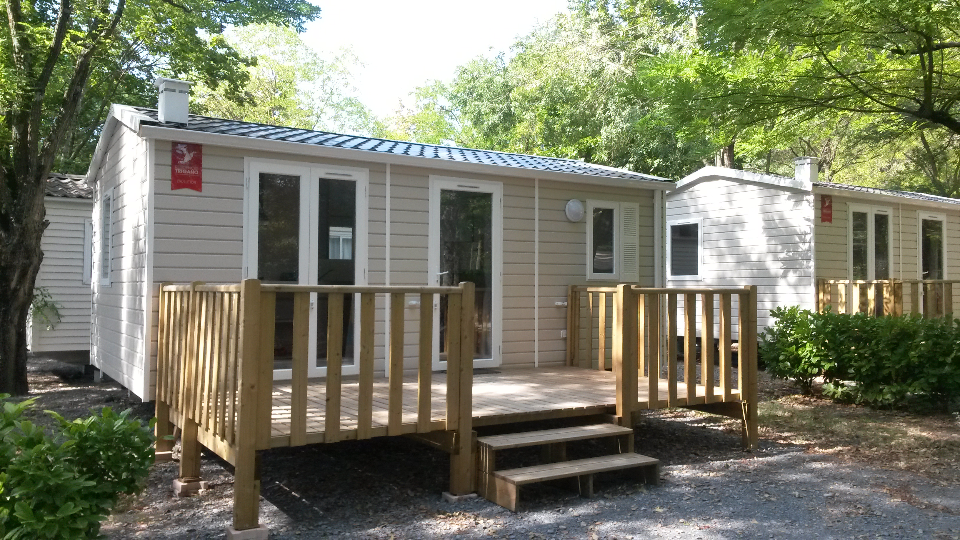 mobile home dans camping à vendre