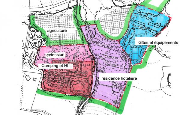 Complexe touristique sur 25 ha à 30 minutes Aix-en-Provence ref 751-750