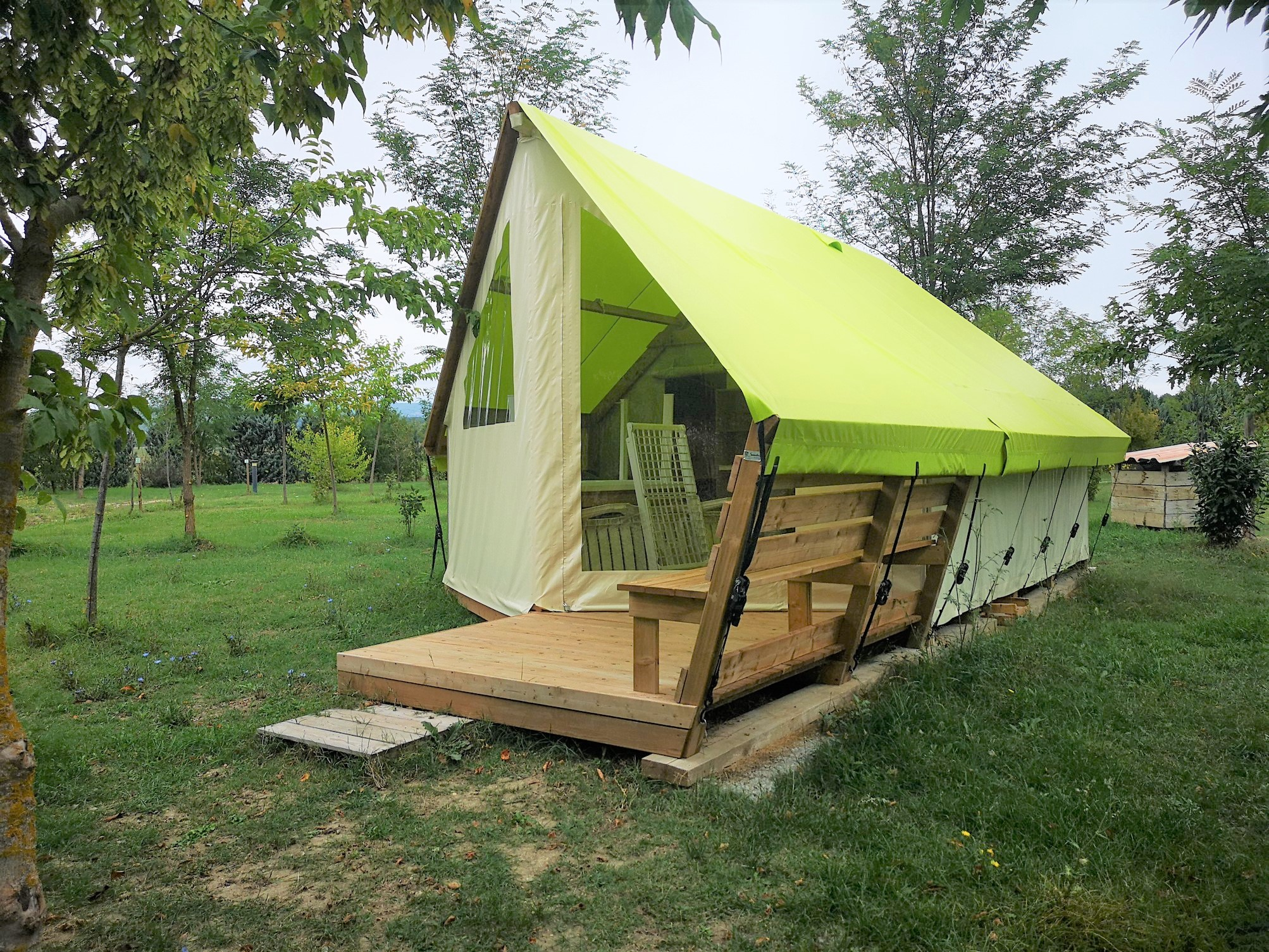 camping tente lodge